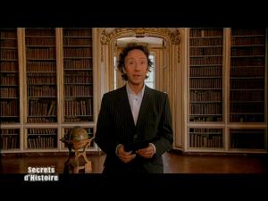 Stéphane Bern dans Secrets d'Histoire - 2007