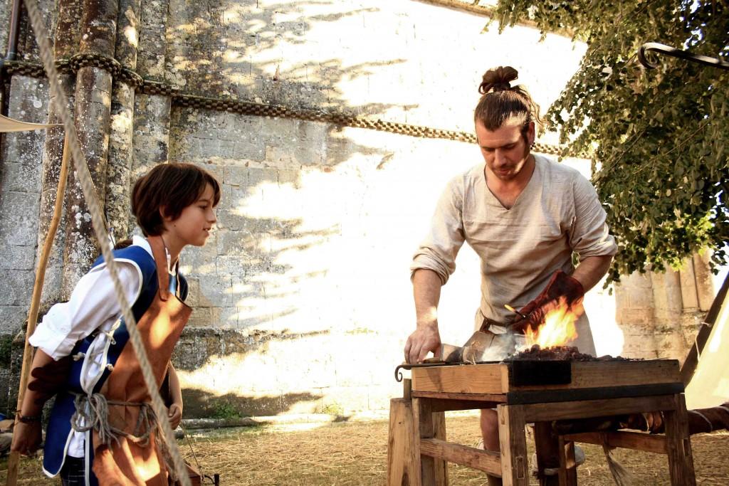 Initiation à la forge - atelier
